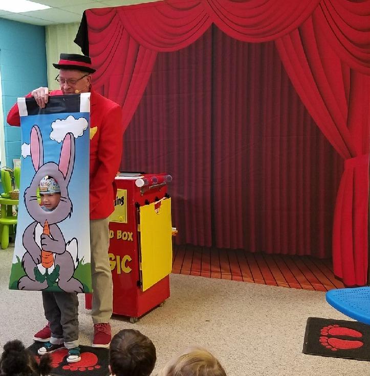 uncle bucks magic show for church